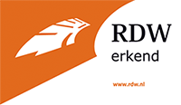 Logo RDW Erkend